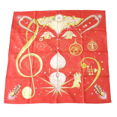 HERMES Q UINTESSENCE Scarf Red