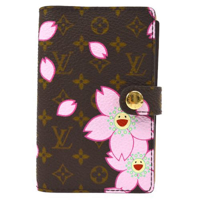 Louis Vuitton Agenda Mini Notebook Cover Monogram Cherry Blossom M92021