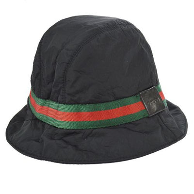 GUCCI Shelly Line Bucket Hat Black