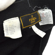 FENDI Long Sleeve Tops Sweater Black