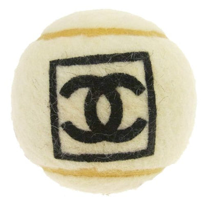 CHANEL CC Sports Tennis Ball White