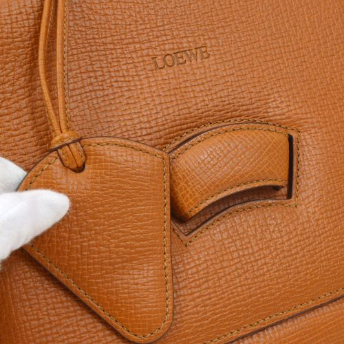 LOEWE BARCELONA 2way Hand Bag Brown