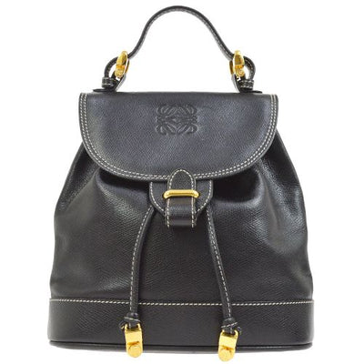 LOEWE 2way Hand Bag Black