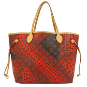LOUIS VUITTON NEVERFULL MM SHOULDER TOTE BAG MONOGRAM WAVES M40686 YAYOI KUSAMA
