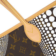 LOUIS VUITTON NEVERFULL MM SHOULDER TOTE BAG MONOGRAM WAVES M40684 YAYOI KUSAMA