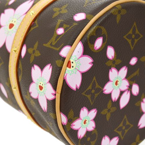 LOUIS VUITTON PAPILLON HAND BAG MONOGRAM CHERRY BLOSSOM M92009