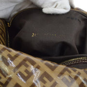 FENDI Zucchino Shoulder Bag Brown