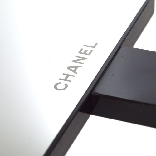CHANEL Hand Mirror Novelty Black
