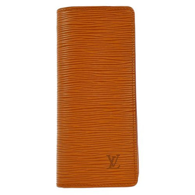 LOUIS VUITTON GLASSES SUNGLASSES CASE EPI BROWN