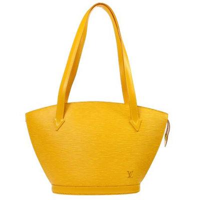 LOUIS VUITTON SAINT JACQUES LONG SHOULDER BAG EPI YELLOW M52339