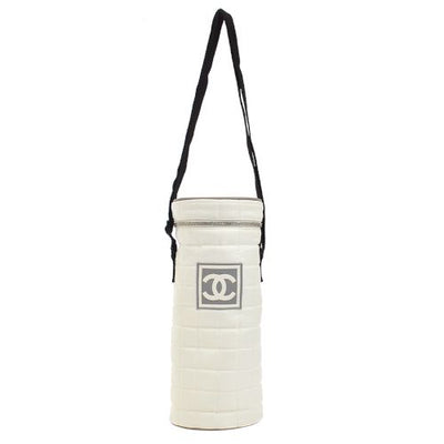 CHANEL Sport Line Choco Bar Shoulder Bottle Holder Case WH