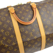 LOUIS VUITTON KEEPALL 55 TRAVEL HAND BAG PURSE MONOGRAM M41424