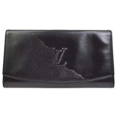 LOUIS VUITTON OPERA AEGEAN CLUTCH HAND BAG BLACK EPI M63962