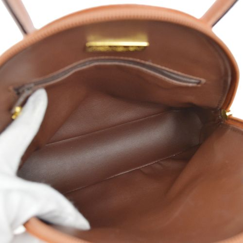 Yves Saint Laurent 2way Hand Bag Brown