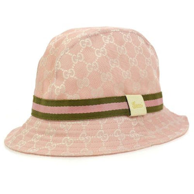 GUCCI Shelly Line Hat Pink