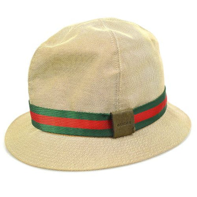 GUCCI Shelly Line Hat Beige