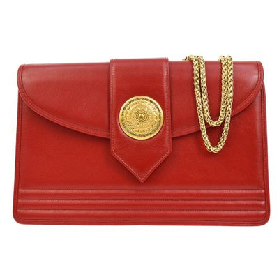 Yves Saint Laurent Chain Shoulder Bag Red