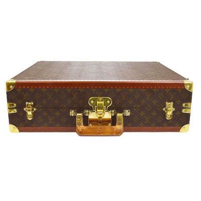 LOUIS VUITTON VINTAGE TRUNK 60 ATTACHE HARD CASE MONOGRAM