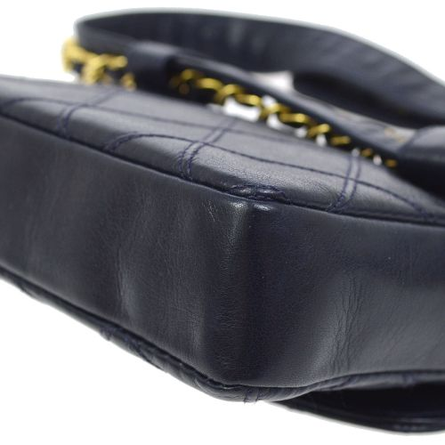 CHANEL Cosmos Line Chain Bum Bag Navy