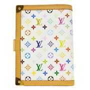 LOUIS VUITTON AGENDA PM NOTEBOOK COVER MONOGRAM MULTI R20896