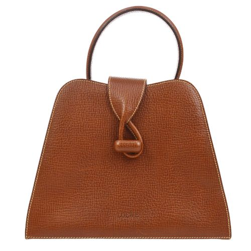 LOEWE Logos 2way Hand Bag Brown