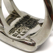 HERMES BIJOUTERIE FANTAISIE Ring Silver #6