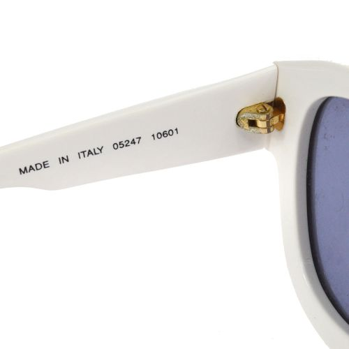 CHANEL Sunglasses White