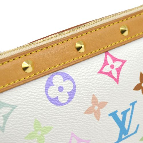 LOUIS VUITTON POCHETTE ACCESSOIRES 2WAY HAND BAG MONOGRAM MULTI M92649