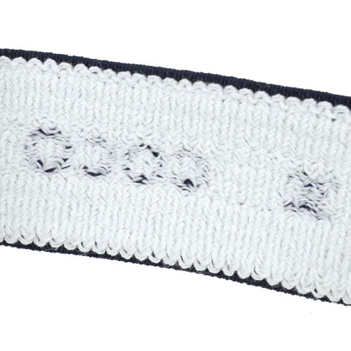 CHANEL Sports Line Wristband Hairband Set Navy