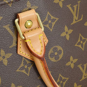 LOUIS VUITTON SAC PLAT HAND TOTE BAG MONOGRAM M51140