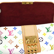 LOUIS VUITTON POCHETTE COURTNEY CLUTCH BAG MONOGRAM MULTI M45639