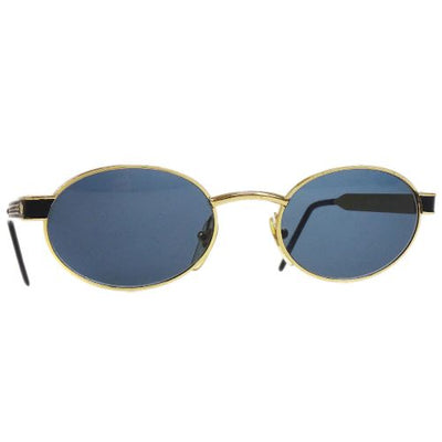 GIANNI VERSACE Medusa Sunglasses Eye Wear Black Gold