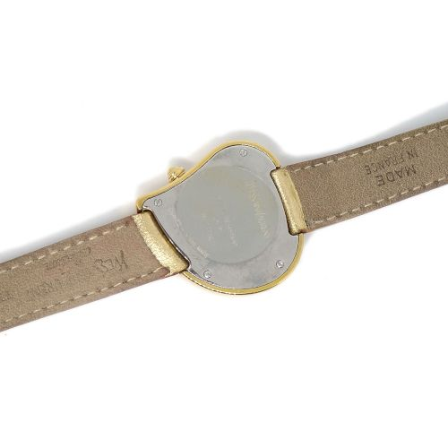 Yves Saint Laurent Heart Wristwatch Watch Quartz Gold