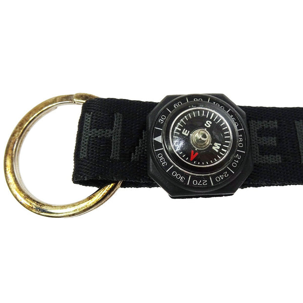 CHANEL CC Logos Sports Line Compass Neck Strap