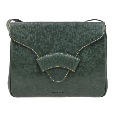 LOEWE BARCELONA Cross Body Shoulder Bag Green