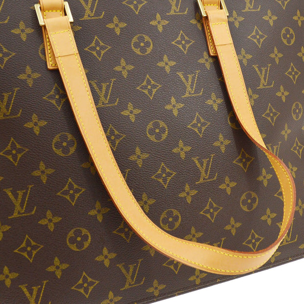 LOUIS VUITTON Luco Shoulder Tote Bag Monogram M51155