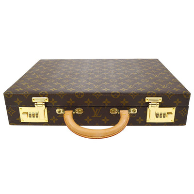 LOUIS VUITTON CRUSHER ATTACHE HARD CASE TRUNK MONOGRAM M53124