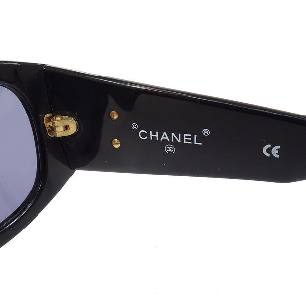 CHANEL CC Logos Star Studs Sunglasses Eye Wear