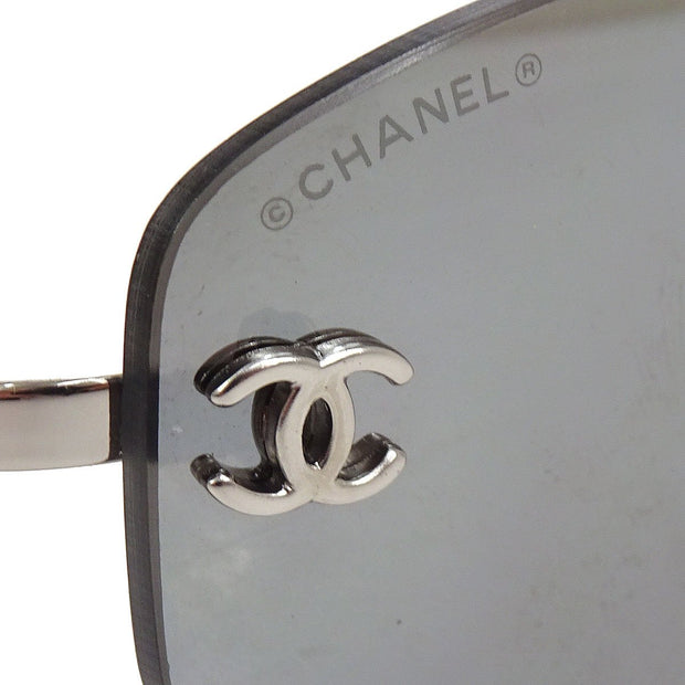 CHANEL CC Logos Sunglasses Eye Wear Mirror Lens