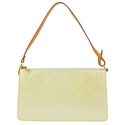 LOUIS VUITTON VERNIS LEXINGTON HAND BAG PERLE PATENT M91345