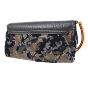 LOUIS VUITTON DE JAIS MANEGE CLUTCH BAG MONOGRAM FLEUR M40435