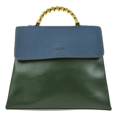 LOEWE VELAZQUEZ 2way Hand Bag Bi-Color