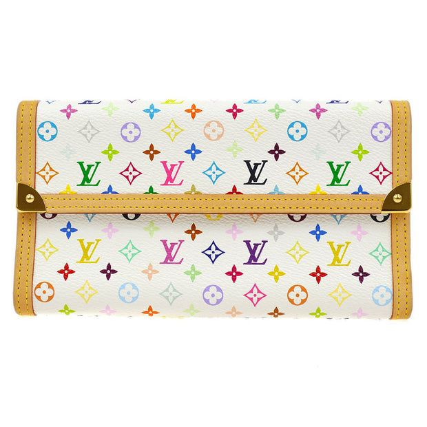 LOUIS VUITTON PORTE TRESOR INTERNATIONAL WALLET MONOGRAM MULTI M9265