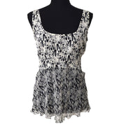 CHANEL #40 CC Mademoiselle Tops White Black