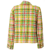 CHANEL #40 CC Button Single Breasted Long Sleeve Jacket Tweed