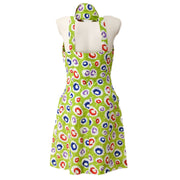 CHANEL #36 CC Sleeveless One Piece Dress Green 97S