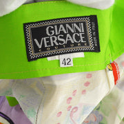 GIANNI VERSACE Medusa Long Pants Trousers Multi-color #42