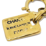 CHANEL CC 31 Rue Cambon Plate Gold Chain Bracelet