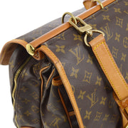 LOUIS VUITTON SAC CHASSE 2WAY TRAVEL HAND BAG MONOGRAM M41140