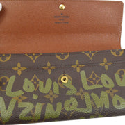 LOUIS VUITTON PORTE MONNAIE CREDIT WALLET MONOGRAM GRAFFITI M92188